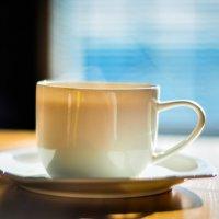 чашка кофе в кафе у моря :: Милана DV