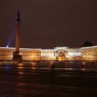 Вечер на Дворцовой пл. :: Евгений Никифоров