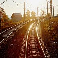 Отражения яркого Солнце :: Алексей Белик