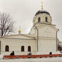Церковь Сошествия Святого Духа Зачатьевского монастыря. :: Александр Качалин