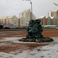 Метеорит наверное... :: Михаил Лобов (drakonmick)