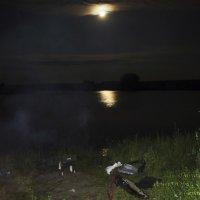 На карпа ночью... :: Юрий Рачек