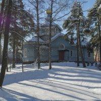 Церковь Святого Апостола Петра в Лахте :: Valeriy Piterskiy