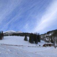 Домик в горах :: Svetlana Kravchenko