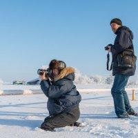 На зимней охоте :: Владимир Клещёв