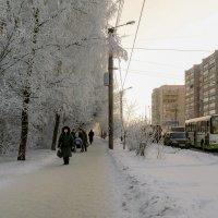 зимние улочки :: gribushko грибушко Николай