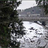 Мост через каньон Вуоксы :: Вера