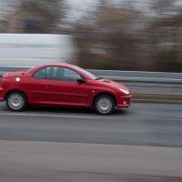 red car :: Katerina Tighineanu