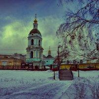 Зимний скверик :: Константин Сафронов