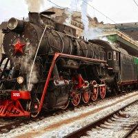 Ретро-поезд :: Андрей Зелёный