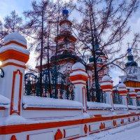 Крестовоздвиженская церковь на Крещение. Иркутск. :: Rafael