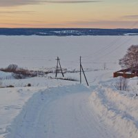 На Обве зимой :: Валерий Симонов