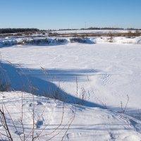 Замёрзшее озеро. :: Яков Реймер