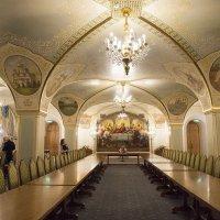 Трапезный зал в Храме Христа Спасителя :: Светлана Яковлева