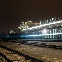Ж\\Д вокзал в городе Рыбинск :: Алексей Дмитриев