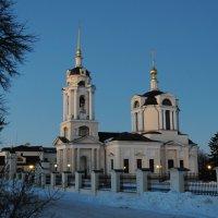 храм Знамение в феврале :: Андрей Куприянов
