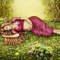 Подсмотреть,пока мама спит... :: Елена Timofeeva