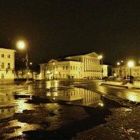 Вечер 20 февраля, мелкий дождь. :: Святец Вячеслав