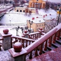 Витебск.Вид на город с Успенского собора. :: Ольга Ткаченко