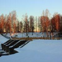 плотина с мостом :: Сергей Кочнев