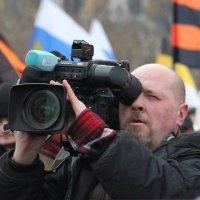 на митинге :: Сергей
