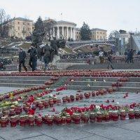 На улицах Киева. 21.02.2015 :: Юрий Матвеев