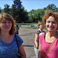 Весёлые мамы в летнем лагере отдыха :: Нина Корешкова