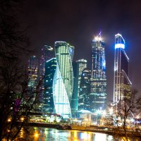 Москва-Сити :: Александр Кореньков