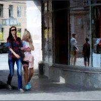 девушки по улице... :: sv.kaschuk