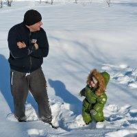 Пап, давай играть... :: Нина Сигаева