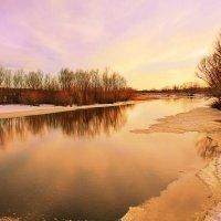 Вечер на реке :: Эркин Ташматов