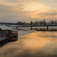 Золотой северный закат.. :: Марина Павлова