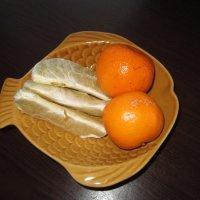 Цитрусовые на блюде . :: Мила Бовкун