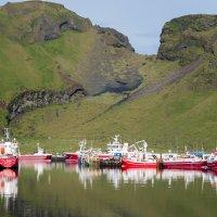 Порт на острове Хаймей. Исландия лето 2014-го :: Olga Koroleva