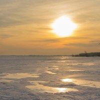 Морозный закат :: Олег Манаенков