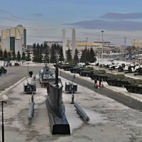 Урал, столица военной техники :: Борис Соловьев