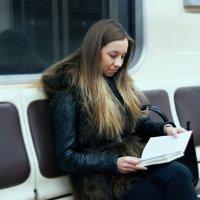 Девушка и книга :: Alex Sash