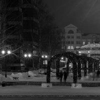 Новогодняя площадь Ханты-Мансийска :: Andrey Ogryzkov