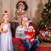 Новогодние чудеса в компании прекрасной семь Юлии! :: Анна Дрючкова