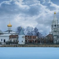 Свято-троицкий острово езерский монастырь :: Владимир Малинин
