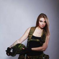 Фотосессия в стиле Милитари :: Svetlana Shumilova