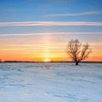 Закат над равниной :: Лилия Будаева