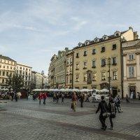 Площадь Ягеллонов. Краков :: Gennadiy Karasev