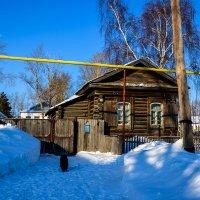 Колывань. Деревянные дома. :: Sergey Kuznetcov