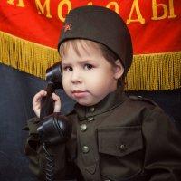 С 23 февраля, папочка :: Анастасия Бембак