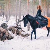 прогулка в лесу :: Яна Спирина