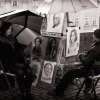 Уличный художник. :: Фомин Виталий