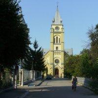Бвыший  польский  костёл  в  Ивано - Франковске :: Андрей  Васильевич Коляскин