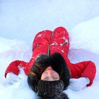 Зимние забавы :: Анастасия Шумихина