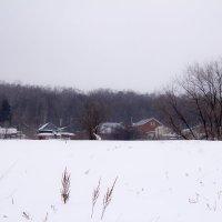 зимний пейзаж :: Алексей Медведев